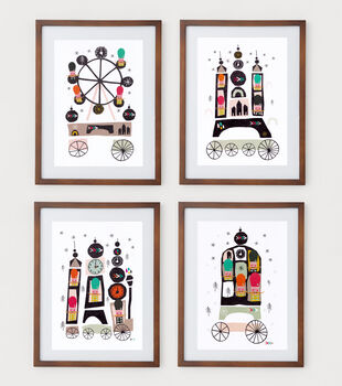London Icon Soldiers Set Of Four Prints