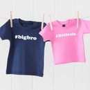 Brother And Sister Hashtag T Shirt Set