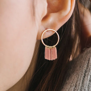 Olympia Fringe Earrings