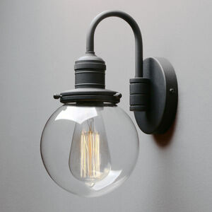 Globe Bathroom Wall Light Ip Rated