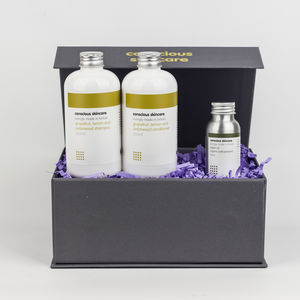 Organic Hair Treatment Gift Set - gift sets
