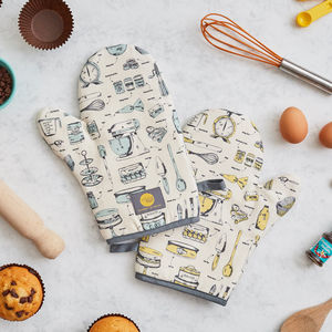 Baking Delight Oven Mitt - oven gloves & mitts