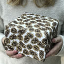 Pine Cones Christmas Wrapping Paper