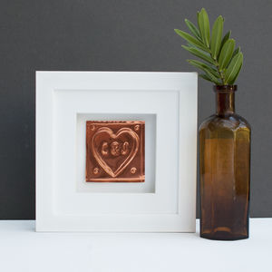 Wedding Anniversary Copper Heart