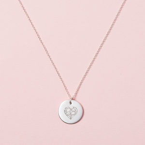 Geometric Heart Necklace Gift Box - necklaces & pendants