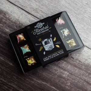 Alcohol Infusions Chocolate Selection Box