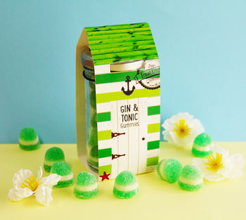 Gin And Tonic Gummy Beach Hut