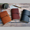 Travellers Leather Midori Notebook Cover