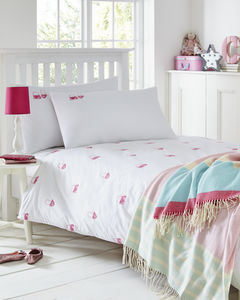 Handbags Embroidered Bed Linen Collection - children's room