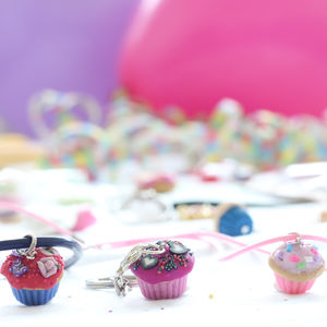 Cupcake Jewellery Craft Letterbox Kit - stocking fillers