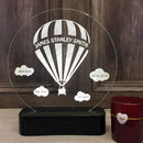 Personalised Baby Balloon Table Light