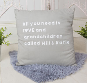 Grandparent Cushion Gift