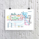 Portishead Map Print