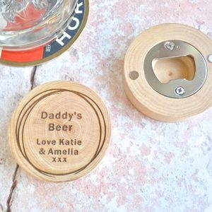 Personalised Daddy's Bottle Opener