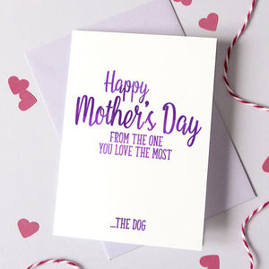Personalised Mother's Day One You Love The Most Card - mother's day cards & wrap