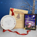 Personalised Christmas Eve Box With Plate And Book