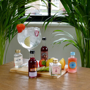The Five Shades Of Pink Gins Tasting Gift Set