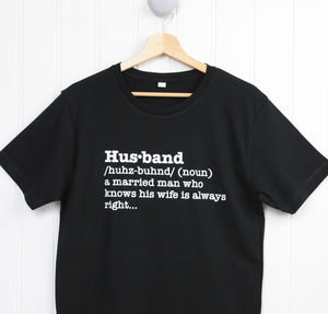 Husband Definition T Shirt - Mens T-shirts & vests