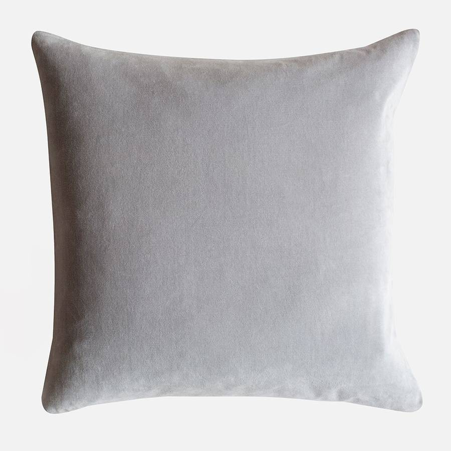 Velvet Cushions By Home Address Notonthehighstreet Com