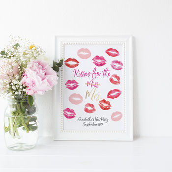 Hen Party Personalised Keepsake Print