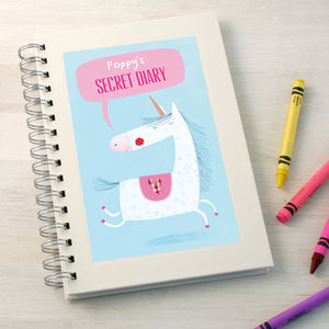 Personalised Girl's Notebook - little extras