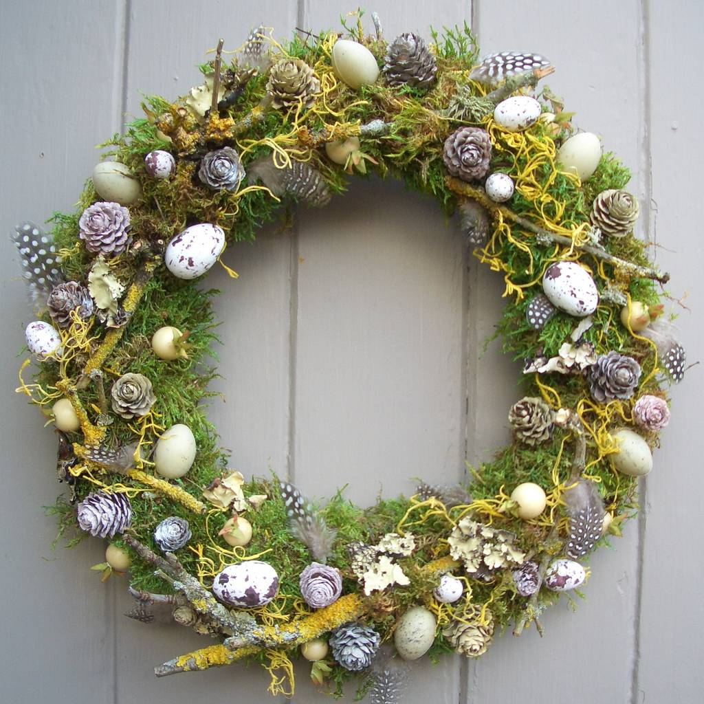 Spring And Easter Wreath By Pippa Designs