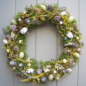 Spring And Easter Wreath - new in home