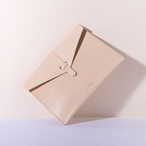 Large Clutch, Natural - clutch bags