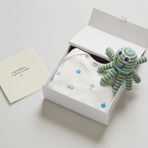 Design Your Own New Baby Boy Gift