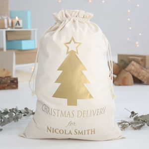 Personalised Christmas Delivery Sack - stockings & sacks