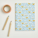 A6 Folk Birds Pattern Notebook