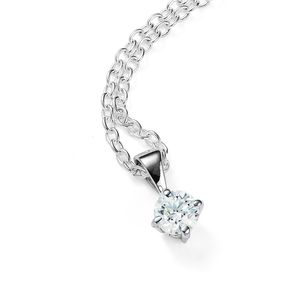 Solitaire Diamond Necklace*