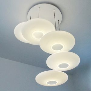 Ethel Inverse Six Drop Suspension - ceiling lights