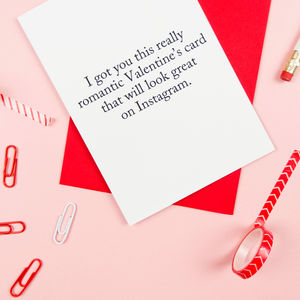 Instagram Valentines Card