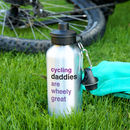 Cycling Water Bottle Personalised Gift For Dads