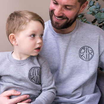 Big Kid Daddy And Me Jumper Set