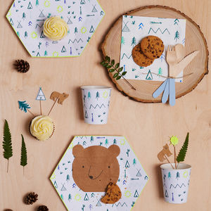 Party Decoration Kit For Little Explorers