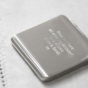 Personalised Compact Mirror - beauty accessories