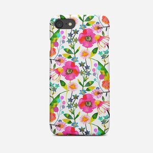 Giant Sparrows Happy Spring Flowers Phone Case