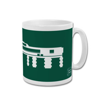 'Mayflower Entrance' Minimalist Plymouth Argyle Mug