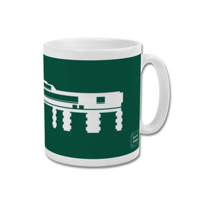 'Mayflower Entrance' Minimalist Plymouth Argyle Mug - dining room