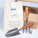 Daddy's Trowel And Fork Father's Day Gifts Set