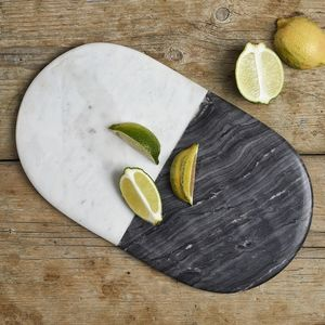 Marble Striped Platter