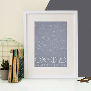 Personalised Colour Block Star Chart Print - what's new