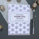 Festive Christmas Thank You Cards