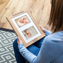 Personalised The Adventure Begins New Baby Photo Frame