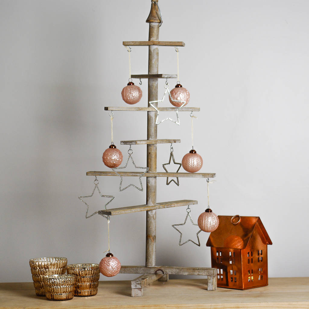 Alternative Wooden Christmas Tree By Ella James
