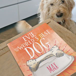 Personalised Worlds Best Dog Story Book