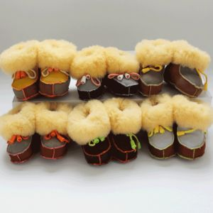 Sheepskin Baby Booties Lucky Dip