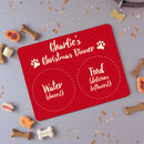Personalised Pet Christmas Placemat